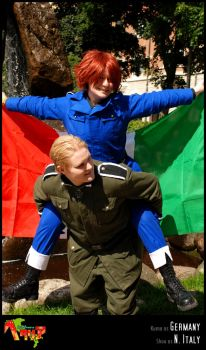 APH-cosplay: Up, up n' away by Kumagorochan