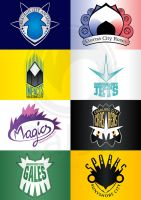 Sinnoh Sports Team logos by Tal96