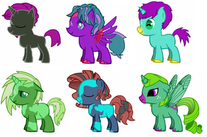 Free Pony Adopts! *OPEN* by TechmoGinger4eves