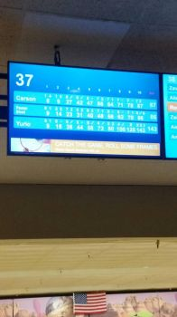 Never go bowling with me by Pyromania219