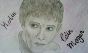 Merlin - Colin Morgan by art-is-an-expression