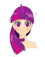 Twilight Sparkle Colored by Yjayr