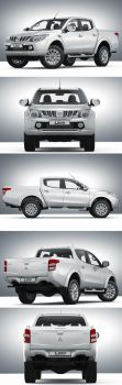 Mitsubishi L200 (2015) by Mad-pencil