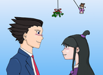 Under the Mistletoe by Aquay
