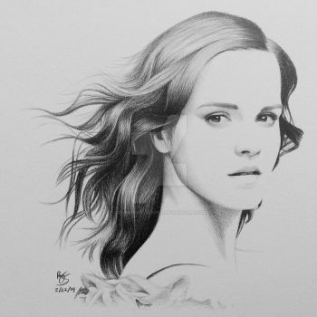 Emma Watson by FromPencil2Paper