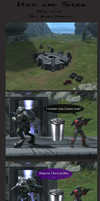 Halo Comic, Hide and Seek by AxelHonoo