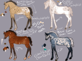 Foals by EdithSparrow