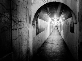Black and white tunnel alternate by trickytreater