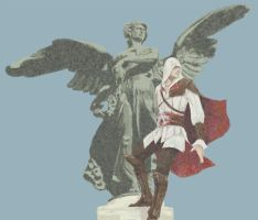 Ezio at Rome by doubleleaf