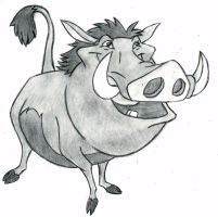 The Lion King - Pumbaa by 09Dianime