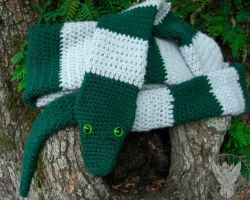 This Scarf is NOT a Horcrux! by TheCrochetDragon