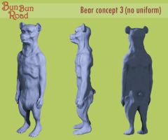 Bear soldier concept 3 by ChristianHolmes