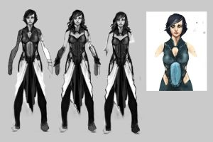 Princess Character concept WIP by wmarinics18