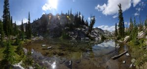 Sawtooth Flagstone Lake 2011 1 by eRality