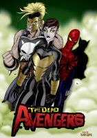 DEAD AVENGERS ISSUE 1-the Boo by THE-Darcsyde