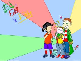 Anime like Ed Edd and Eddy by cgaussie