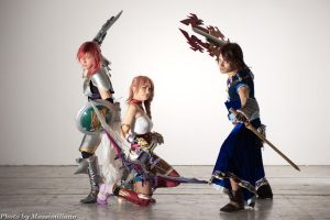 Through the time - FFXIII-2- by LightningTheArtist