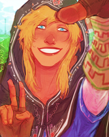 this nerd needs to take his thumb off the lens by hyamara