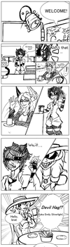 Cafe comic by The-Loving-Fool