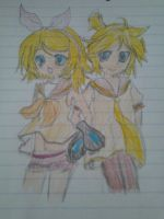 Vocaloid twins by cottoncloudyfilly