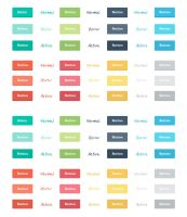 Freebie: Flat Buttons by PsdChat