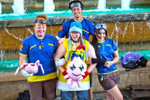 Otakon 2014 - Digimon Photoshoot 19 by VideoGameStupid