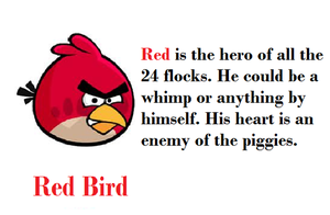 Angry Birds Characterization by Sonic12Lexi