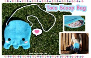 Taco Scoop Bag by fuzzy-jellybeans