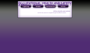 Occupational Health and Safety by brokenb-x