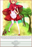 Little Red Riding Hood Journal Skin by double-rainbow-chan