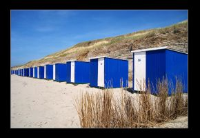 Blue beach houses by loezzy