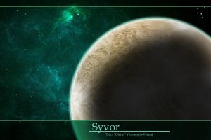 Syvor - Spacescape Illustration by Ulario