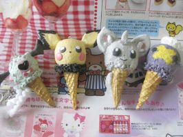 Pokemon Ice Cream by KeoDear