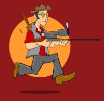 Badge: Sniper, TF2 by kkyz13