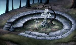 forest grave (version 2) by Sigyn85