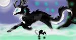 Mist wolf cause i don't know yet what to call them by ashenrisen