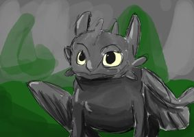 Toothless by Miss-Ellanius