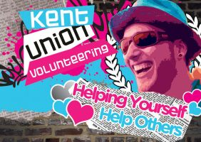 Kent Union Volunteering Poster by squiffythewombat