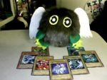 Winged Kuriboh Plush by oneandonlyLLAT