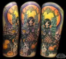 Nightmare before xmas by state-of-art-tattoo