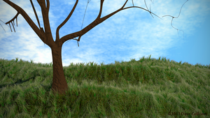 Tree and Grass Two by TheBigDaveC