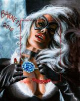 Black Cat Artist Proof by artguyNJ