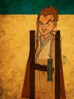 Obi-Wan on Tatooine by JoJo-Seames