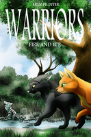 Fire and Ice fan cover by Ninchiru