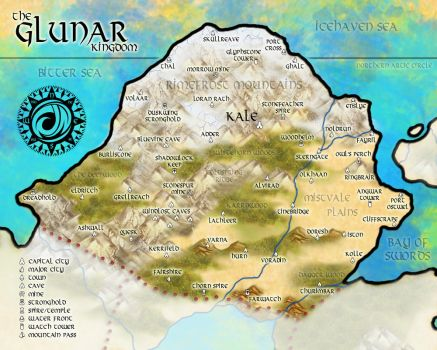 The Glunar Kingdom V2 by MindoftheMasons