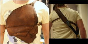 LARP-stuff: Leather chestplate by dcsnijders