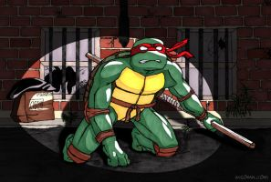 Donatello - Turtle in trouble by shellpresto