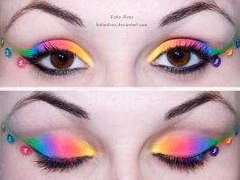Skittles Eyes by KatieAlves