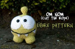 Om Nom (Cut the rope) libre pattern by Anxocunningham