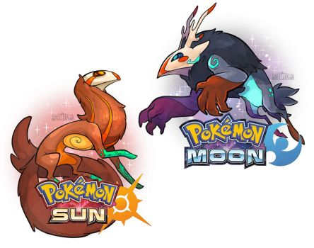Pokemon Moon and Pokemon Sun by Flying-Fox